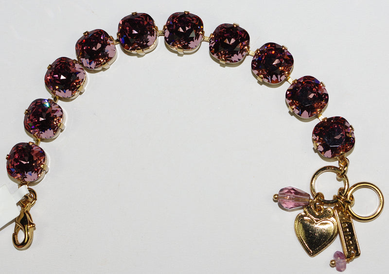 MARIANA BRACELET: Rose stones in european gold setting