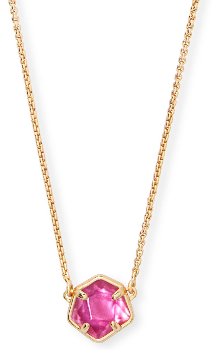KENDRA SCOTT NECKLACE JAXON GOLD AZALEA ILLUSION