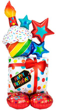 Load image into Gallery viewer, Birthday Cupcake Balloon