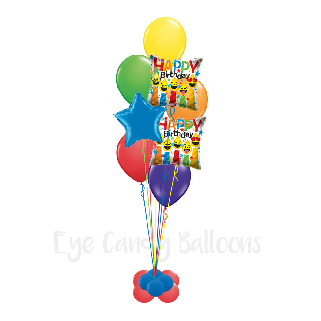 Birthday Balloon Bouquet [Sparkle]