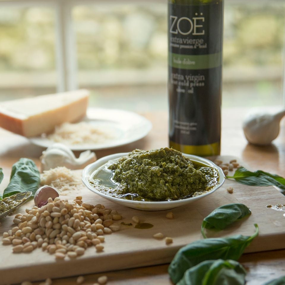 Homemade Zoë Pesto