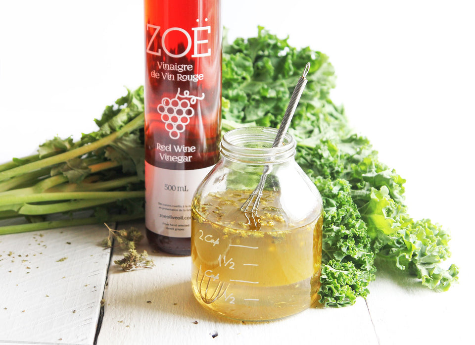 Zoe Dijon & honey vinaigrette