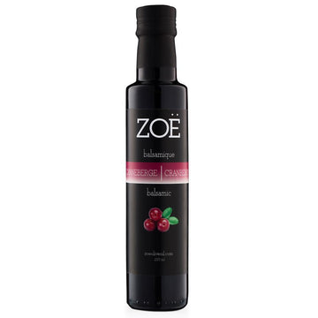 Cranberry Infused Dark Balsamic Vinegar 250 ml