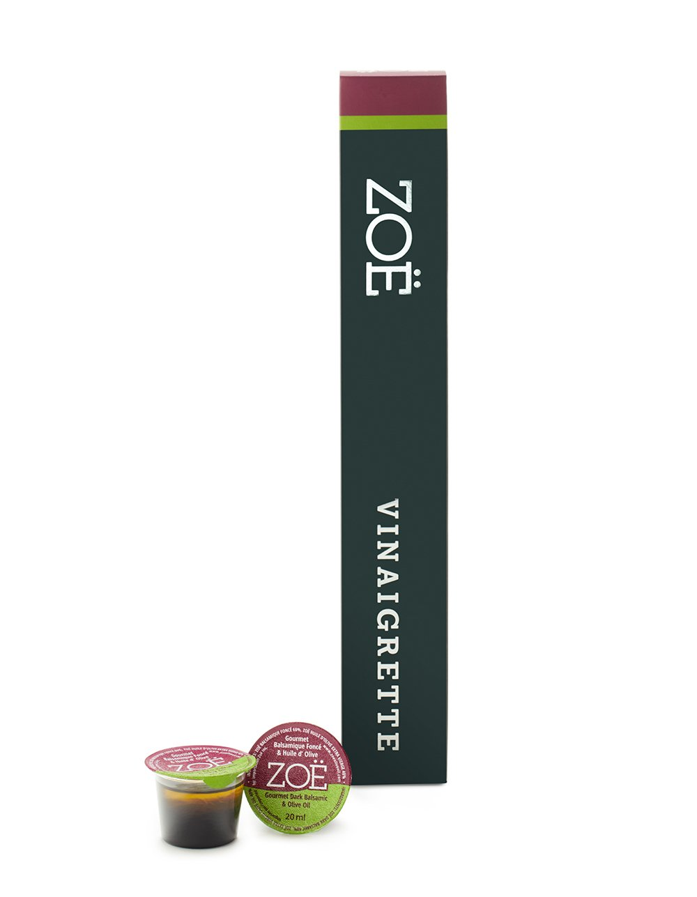 ZOË DARK BALSAMIC & OLIVE OIL PODS