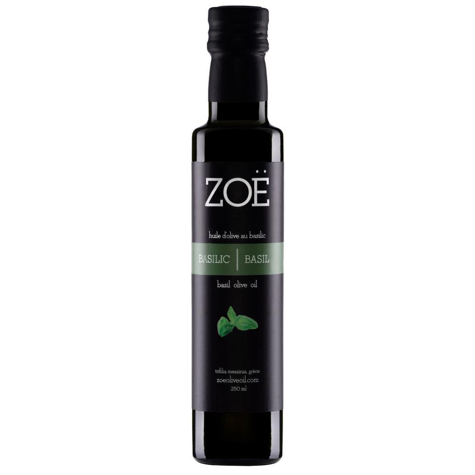 Basil Infused Olive Oil 250ml