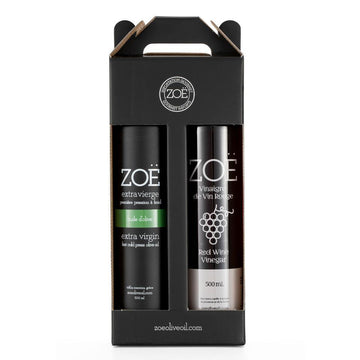 Duo Zoë Extra virgin olive oil & Zoë Red wine vinegar