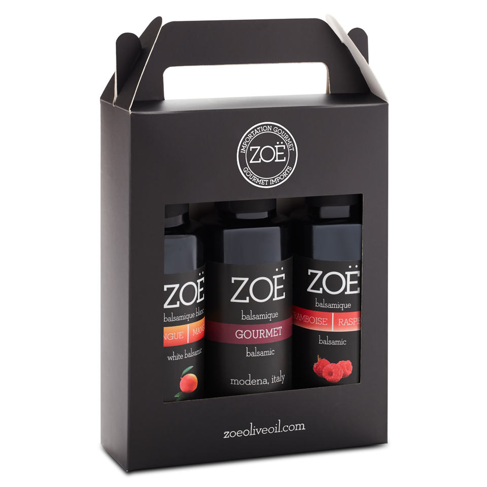 Zöe Balsamic Mini Trio - 100 ml