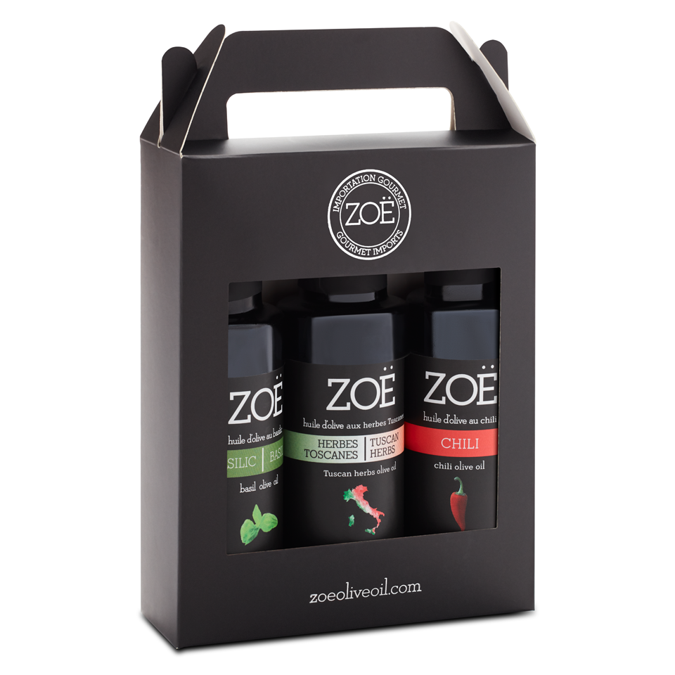 Zöe Olive Oil Mini trio - 100 ml