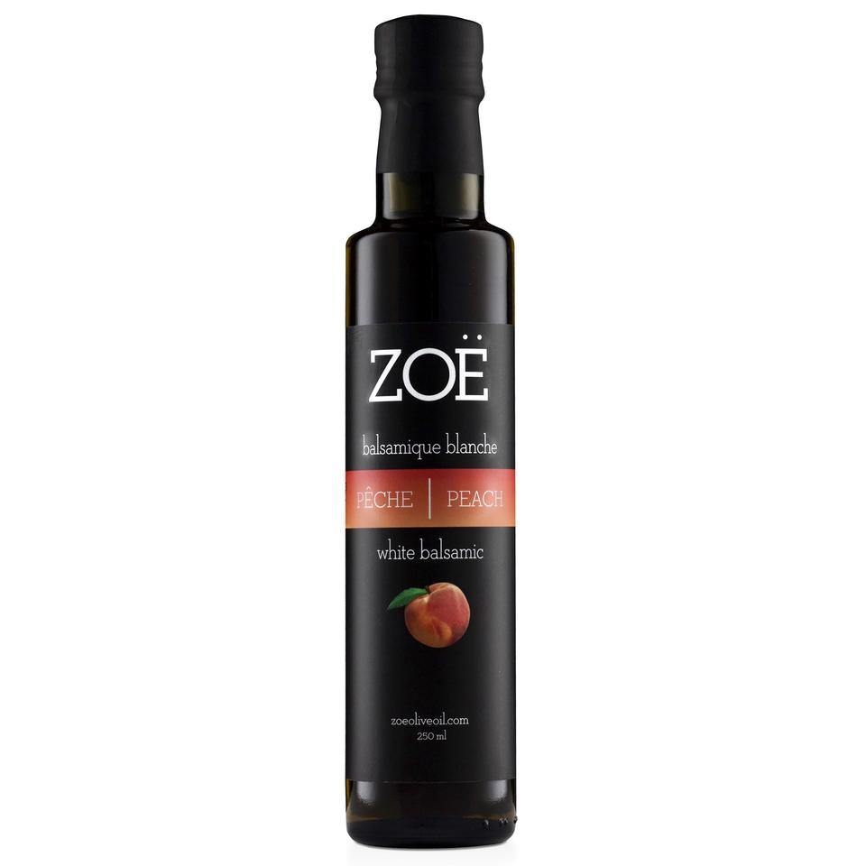Peach Infused White Balsamic Vinegar 250ml