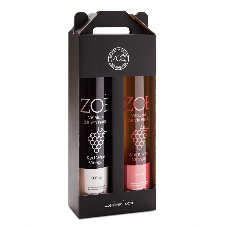 Zöe Wine Vinegar Duo