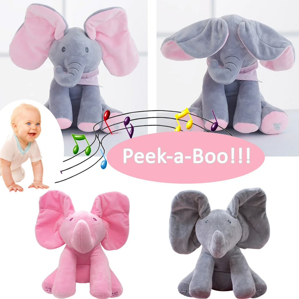 uuprime™-The best gift🎁PeekaToy Elephant Plush Toy-50% Off