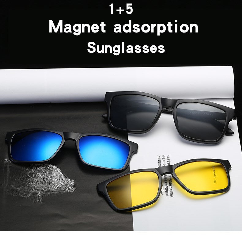 Outdoor Polarized Sunglasses with Magnetic Frame