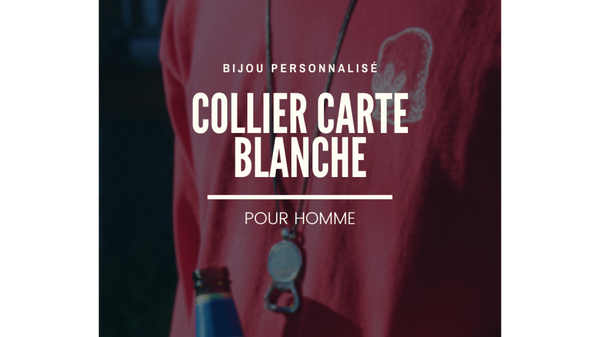 CARTE BLANCHE - Collier homme