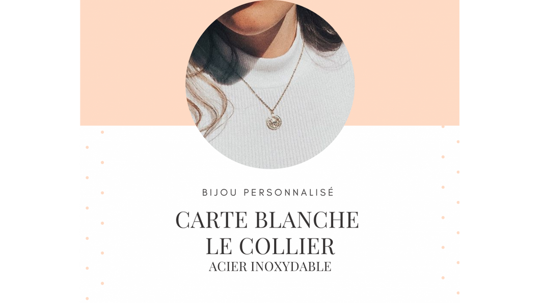 CARTE BLANCHE - Collier