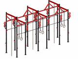 crossfit rig rack for squat pull ups gymnastic movements