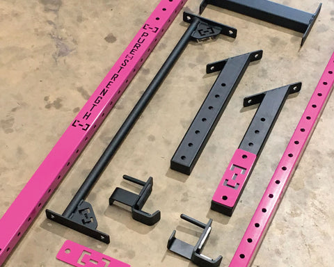 Slim Gym- Magenta & Black