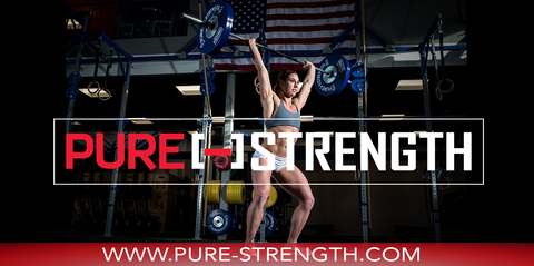 Pure Strength / Brooke Wells Athlete Banner