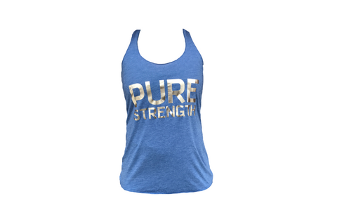 Pure Strength Logo Tank