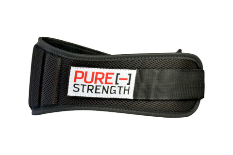"Weight Lifting Belt: ""Black"""