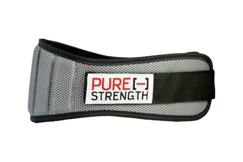 "Weight Lifting Belt: ""Gray"""