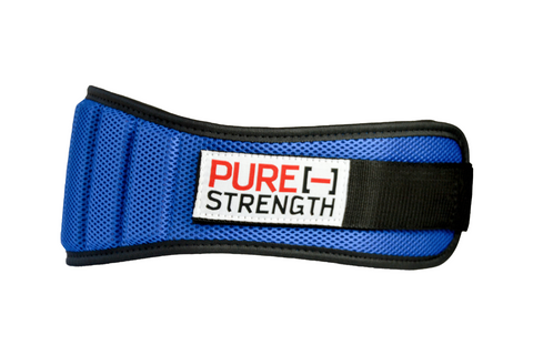 "Weight Lifting Belt: ""Blue"""