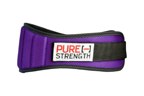 "Weight Lifting Belt: ""Purple"""