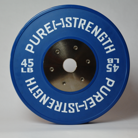 45 LB Pure Strength Competition Plate - Ships for $1!!