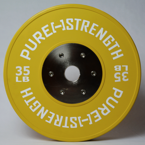 35 LB Pure Strength Competition Plate - Ships for $1!!