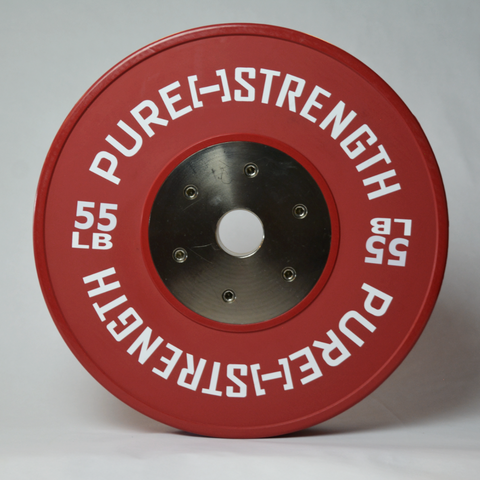 55 LB Pure Strength Competition Plate - Ships for $1!!