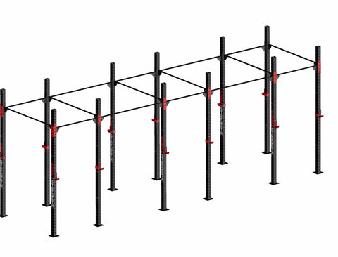 crossfit rig rack for squat pull ups