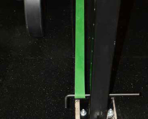 strength band pins banded squats deadlifts