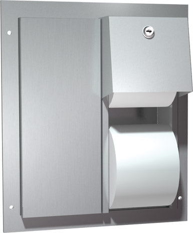 ASI 0032 | American Specialties Toilet Paper Dispenser, Partition Mounted