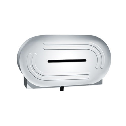 ASI 0039 | American Specialties Low Profile Twin Jumbo Roll Toilet Tissue Dispenser