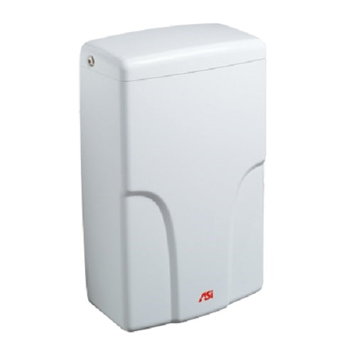 ASI 0196-2-00 | American Specialties Turbo-Pro Hand Dryer, White, 208-240V