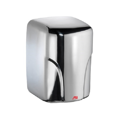 ASI 0197-1-92 | American Specialties TURBO-Dri Bright Stainless Steel Hand Dryer, 110-120 Volt