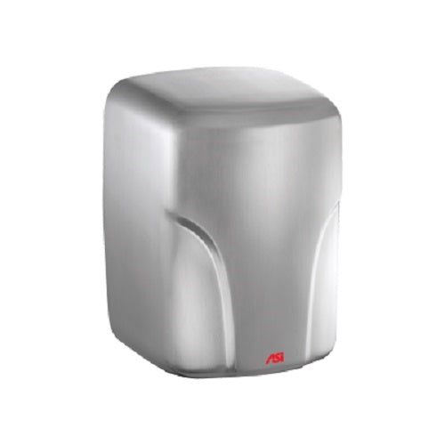 ASI 0197-1-93 | American Specialties TURBO-Dri Satin Stainless Steel Hand Dryer, 110-120 Volt