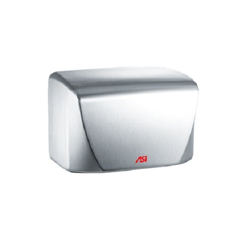ASI 0198-1-93 | American Specialties TURBO-Dri Satin Stainless Steel Hand Dryer, 110-120 Volt