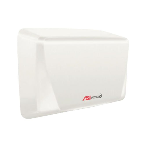 ASI 0199-3-00 | American Specialties TURBO ADA Hand Dryer, White, 277 Volt