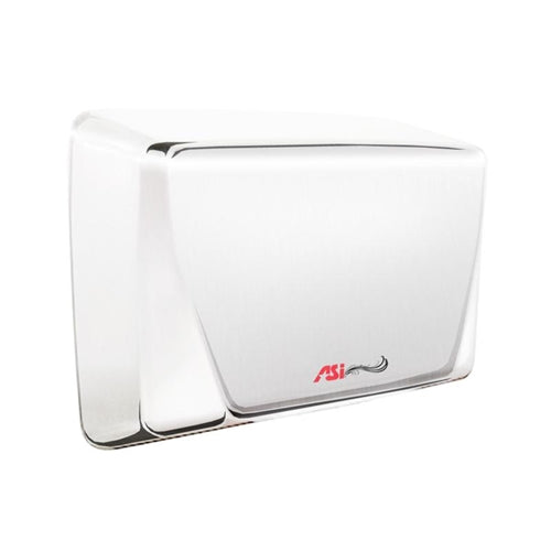 ASI 0199-3-92 | American Specialties TURBO ADA Hand Dryer, Bright Stainless Steel, 277 Volt