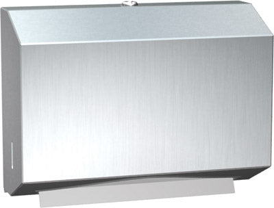 ASI 0215 | American Specialties Petite Paper Towel Dispenser, Stainless Steel, Surface Mounted