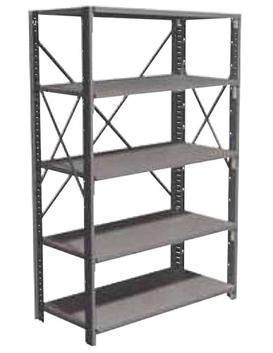 "ASI Storage Solutions 48"" x 24"" x 87"" Open Design Conventional Shelving"