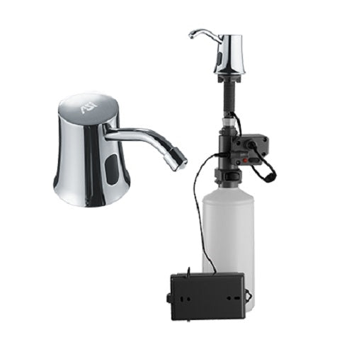 ASI 20333 | American Specialties Roval Soap Dispenser, Automatic, Deck Mounted