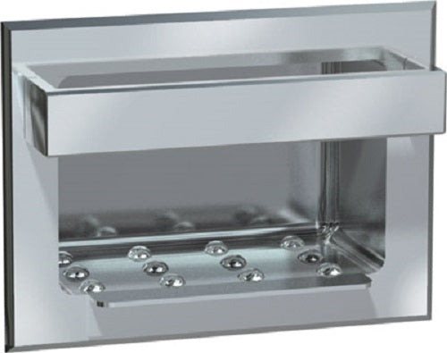 ASI 0400 | American Specialties Stainless Steel Soap Dish without Bar, Drywall