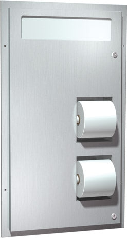 ASI 0486 | American Specialties Toilet Seat Cover & Toilet Tissue Dispenser, Surface Mounted