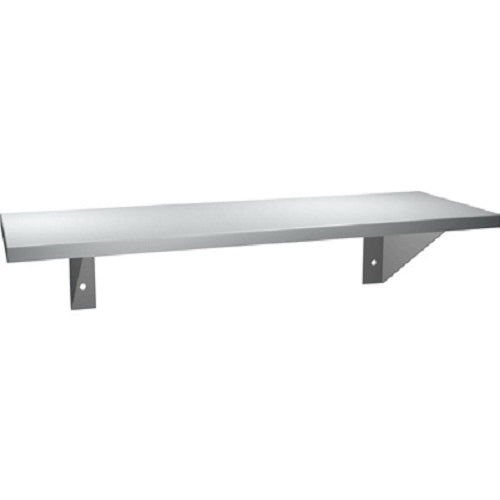 "ASI 0692-512 | American Specialties 5"" x 12"" Stainless Steel Shelf"