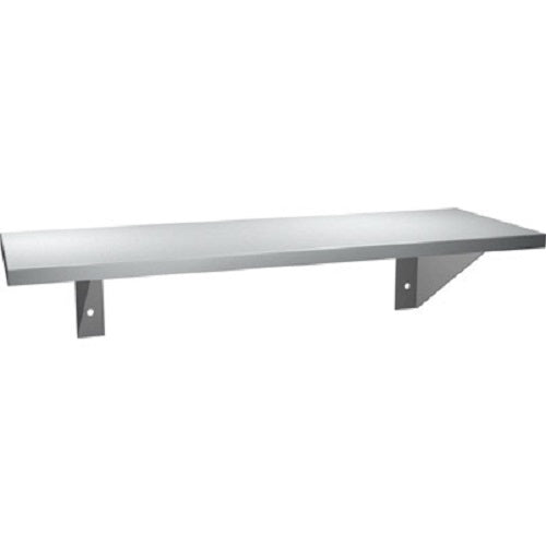 "ASI 0692-518 | American Specialties 5"" x 18"" Stainless Steel Shelf"