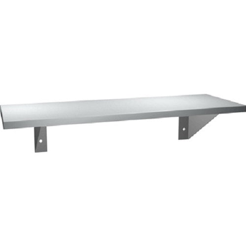 "ASI 0692-630 | American Specialties 6"" x 30"" Stainless Steel Shelf"