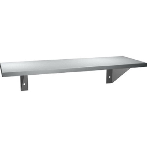 "ASI 0692-812 | American Specialties 8"" x 12"" Stainless Steel Shelf"