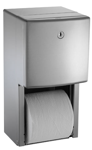 ASI 20030 | American Specialties Roval Twin Roll Toilet Tissue Dispenser
