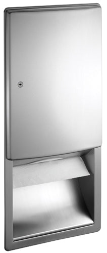 ASI 20452 | American Specialties Roval Paper Towel Dispenser, Recessed